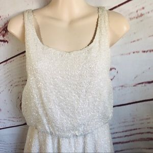 Alice + Olivia Dresses - Alice and Olivia sequin and pearl dress 0 b#1